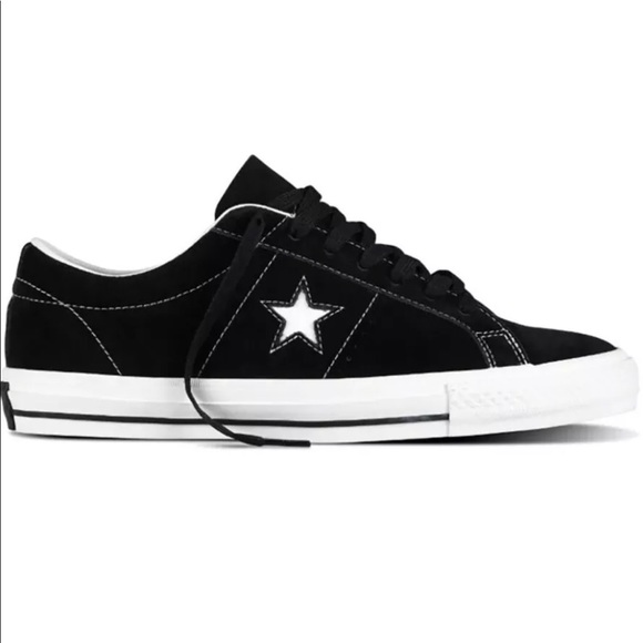 fc47a5f83848 Converse One Star Skate OX Black White 149908C